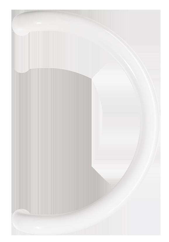 Poignée courbe