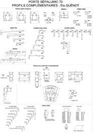 Planche Porte SÉPALUMIC 70 et Profilés complémentaires Quenot-page-001